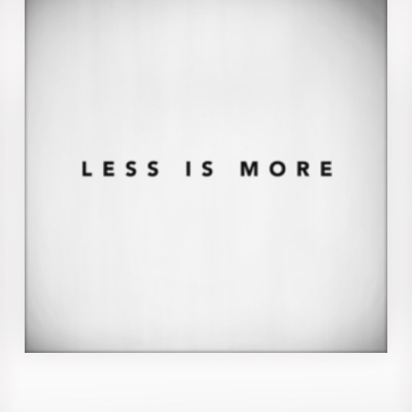 Less is More Me on Focus