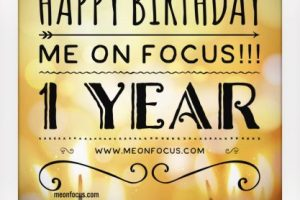 Happy Birthday Me on Focus