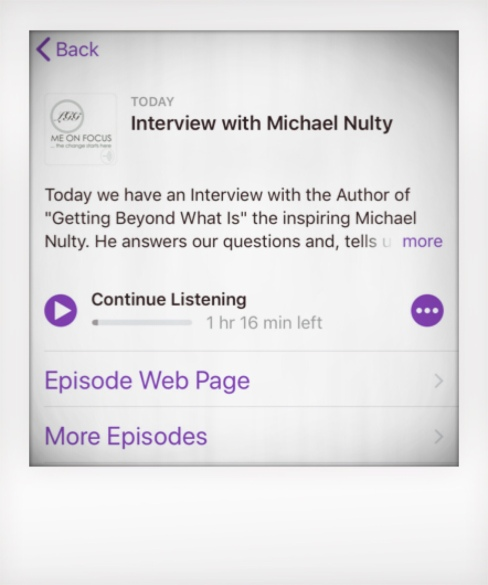 Michael Nulty Podcast
